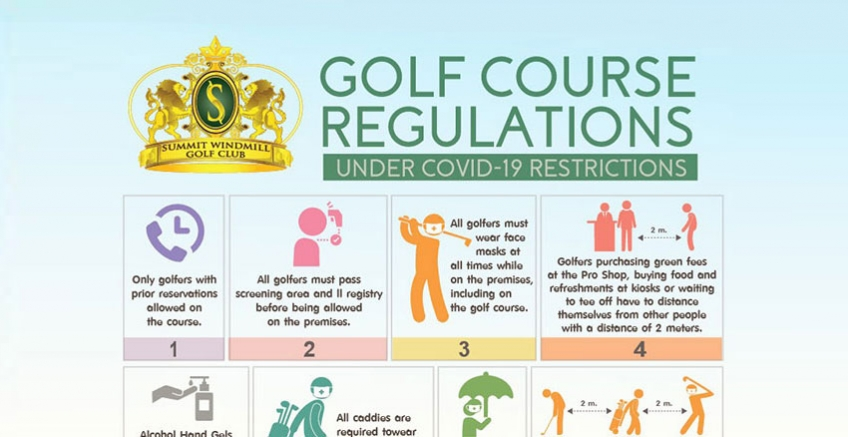 Golf Course Regulations Under COVID-19 Restrictions