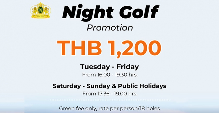 Night Golf Promotion